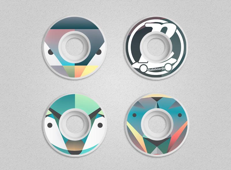 2_retro_skateboard_design_illustration_geometric_wheels